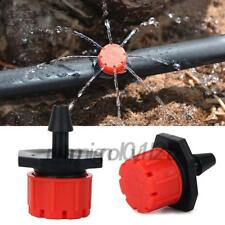 100 x Micro Drip Irrigation System Plant Self Watering Garden Hose Kits Drippers
