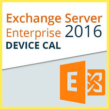 Microsoft Exchange Server 2016 Enterprise - 1x DEVICE CAL