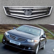 1Pcs Chrome Bumper Front Grille Gril For Honda Accord 2009-2010