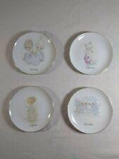 """Precious Moments 6"""" Collector Plates. Choice January February September December"""
