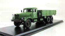 russian soviet truck USSR Kraz 257 khaki SSM 1:43 SSM1070