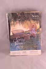 VINTAGE SPRING SUMMER 1979 SEARS CATALOG