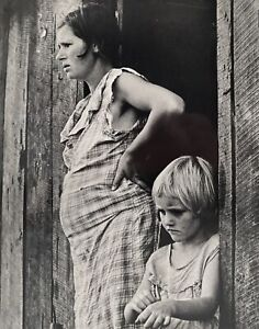 Arthur Rothstein Photograph Of Depression Era Mother And Child