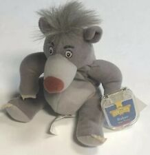 "DISNEY-MATTEL-Baloo-6""Bean-Plush-Retired-DisneyStore-W/Tag Stocking Stuffer"