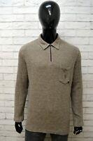 Maglione Uomo ARMATA DI MARE Taglia L Felpa Pullover Cardigan Sweater Man Cotone