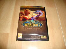 WORLD WARCRAFT STARTER EDITION DE BLIZZARD PARA PC VERS. ONLINE NUEVO PRECINTADO