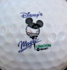 (1) MAGIC KINGDOM LINKDOM RESORT DISNEY WORLD LOGO GOLF BALL