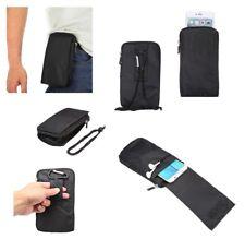 for MICROMAX A77 CANVAS JUICE (2013) Black Pouch Bag XXM 18x10cm Multi-functi...