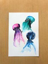 ORIGINAL ART - Jellyfish Trio