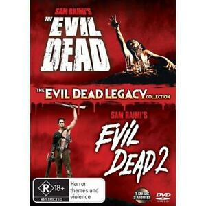 The Evil Dead Legacy Collection DVD