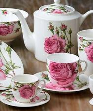Geschirr Englische Rosen Porzellan Tasse Teller Müslischale Becher Kanne Shabby