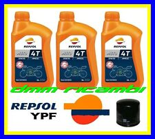 Kit Tagliando HONDA CBR 600 RR 11>12 Filtro Olio REPSOL 10W30 2011 2012