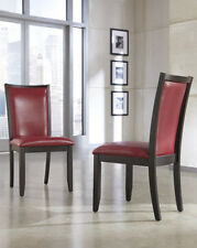 Ashley Furniture D Dining UPH Side Chair (2/CN) Trishelle Red D550-04 Chair NEW