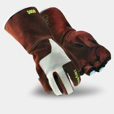 Hexarmor Heavy Duty 5050 Leather Welding Gloves With Extreme Heat Protection