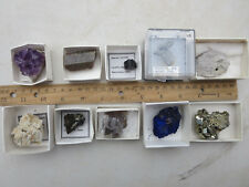 MN 170  ASSORTMENT OF 10 MINERAL SPECIMENS FOR 1 LOW PRICE, SEE LIST BELOW