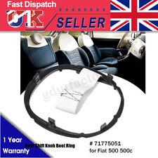 Gear Stick Lever Boot Gaiter Retaining Ring Surround 71775051 For Fiat 500 500c