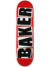 "Baker Skateboard Deck OG Logo 8.3875"" Black FREE GRIP & FREE POST"