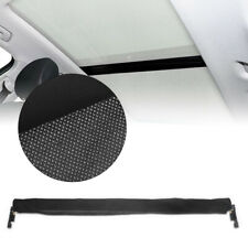 1PC Panoramic Sunroof Sunshade Fabric Curtain For VW MK7 Golf 7 GTI GolfR Black