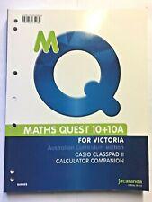 Maths Quest 10  TI-Nspire / Casio Classpad II Calculator Companion; Kylie Bouche