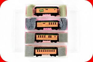 N Scale GN Great Northern OVERTON Passenger 4-Car Set ROUNDHOUSE Micro Trains Cp