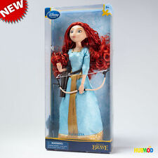 RARE 2013 BRAVE Merida Disney Store Exclusive Classic Doll with Bow and Arrow