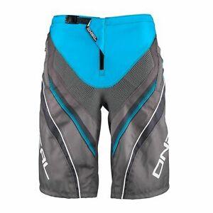 "O'Neal Element FR MTB Cycling Short Durable Abrasion-proof Blue Grey 30"""