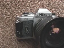 Nikon FG #8877936 TESTED Working Body w/ Zykkor zoom 28-80/3.5 macro & cap 9++++
