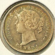 1900 Canada 10 Cents Silver 92.5% #1254
