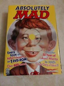 Absolutely MAD 53 Years of MAD Magazine DVD-Rom * RARE OOP