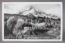 1938 MT. HOOD OREGON Perpetually Snowcapped Sawyer real photo postcard RPPC