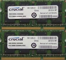 8GB kit ram for MacBook Pro 2.3GHz Intel Core i5 13,15 & 17 inch DDR3 Early-2011