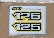 YZ125 YZ 125 side panel decals stickers USA