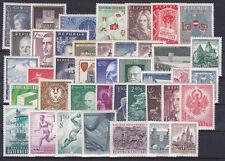 Österreich Jahrgang  1956-59 postfrisch** 41 Werte