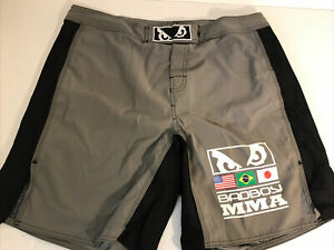 BAD BOY MMA Mens Fight Shorts Training Gym 38 Nice!