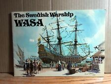 Vintage 1973 The Swedish Warship WASA Book