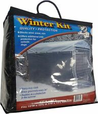 Big Dog Kennel Cage Pet Wind Screen Extra Large Outdoor Heavy Duty Portable