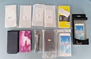 Handy Accessoires Konvolut - FlipCover, FlipCase, Schutzfolie, SiliconCase