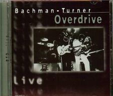 BACHMAN-TURNER OVERDRIVE - Live Bachman-Turner Overdrive - CD - Live - BRAND NEW