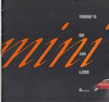 MINI SPRITE MAYFAIR COOPER 1.3i & CABRIOLET ORIG. 1995 FACTORY UK SALES BROCHURE