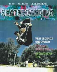Skateboarding (To The Limit) by Horsley, Andy Paperback Book The Cheap Fast Free