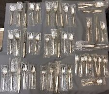 Magic Moment by Nobility Silverplate Flatware Lot 45 pieces