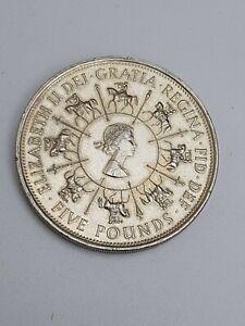 5 Pounds 1993 Excellent Condition Coins United Kingdom