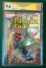 Fantastic Four Chronicles - Feb 1982, CGC 9.6, Cover signed by George Perez