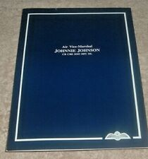 More details for air vice marshal johnnie johnson signed ministry gallery booklet coa