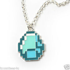 Minecraft Diamond Pendant Necklace NEW Licensed product designed by J!NX