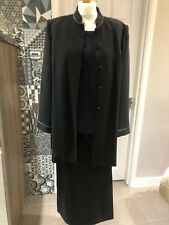 Ladies 3 Piece Evening Suit By Jacques Vert Size 16