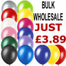 WHOLESALE BALLOONS 50 - 500 Latex BULK PRICE JOBLOT Quality Any Occasion BALOONS