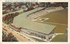 SPILLER FIELD BASEBALL STADIUM ATLANTA GEORGIA POSTCARD (c. 1920s)