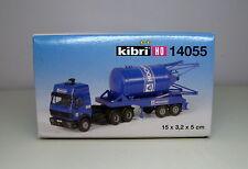 Kibri H0 14055 - Camion Mercedes con carico di silos.