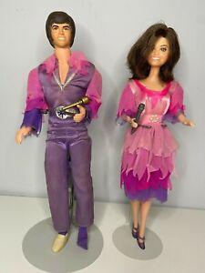 VINTAGE 1970s Mattel Donny And Marie Osmond Dolls